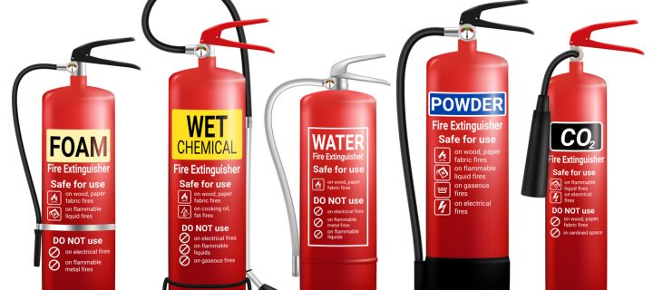 Types of Fire Extinguishers & Their Uses Image